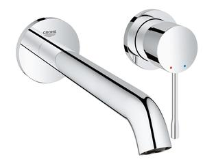 Grohe Essence New Mitigeur lavabo encastrable 2 trous L size avec bec 23cm chrome SW25094