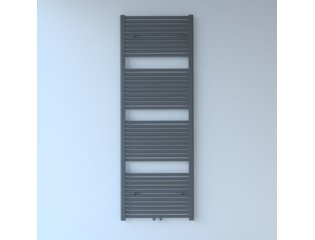 Throne Bathrooms Exclusive line 2.0 radiator 60x180cm 990watt recht middenaansluiting mat antraciet