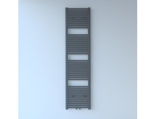 Throne Bathrooms Exclusive line 2.0 radiator 40x180cm 696watt recht middenaansluiting mat antraciet