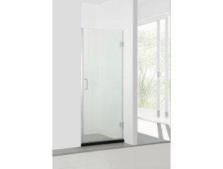 Saniclass Neptune 5000 Porte de douche 95x200cm verre anti-calcaire chrome