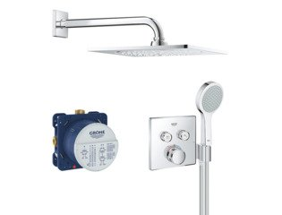 Grohe Grohtherm smartcontrol Comfortset encastrable série F 254 chrome SW209458