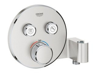 Grohe Grohtherm smartcontrol afdset thermostatisch supersteel SW225096