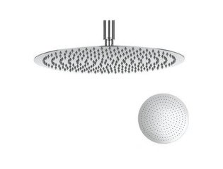 Crosswater Central hoofddouche rond 40cm extra dun chroom SW24469