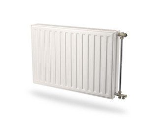 Radson Compact Radiator (paneel) H40xD6.5xL105cm 741W Staal Wit SW130347