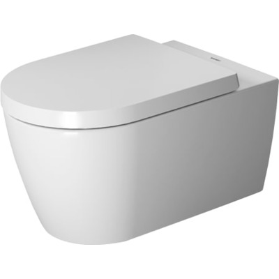 Duravit ME by Starck wandclosetset diepspoel Rimless 37x57cm met softclose closetzitting wit