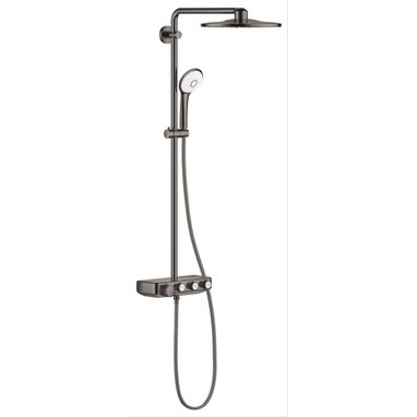 Grohe Euphoria smartcontrol douchesysteem rond 310 duo hard graphite