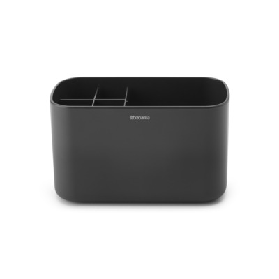 Brabantia ReNew Badkamer Caddy Dark Grey Grijs
