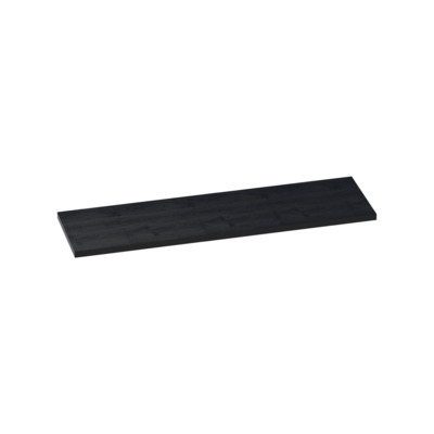 Saniclass TopPlate Plan vasque 162x46cm rectangulaire MFC Black Wood