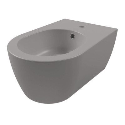 Royal plaza Novia wandbidet met overloop 1 kraangat cement