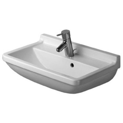 Duravit Philippe Starck 3 Compact wastafel 60x37cm wit SHOWROOMMODEL