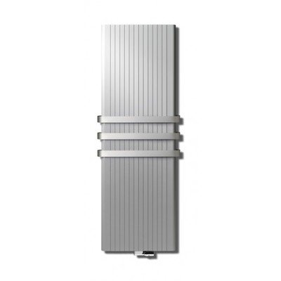 Vasco Alu Zen designradiator 1800x450mm 1596W aansluiting 66 grijs wit (M303)