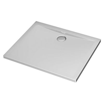 Ideal Standard Ultra Flat douchebak acryl 100x80x4,7cm wit