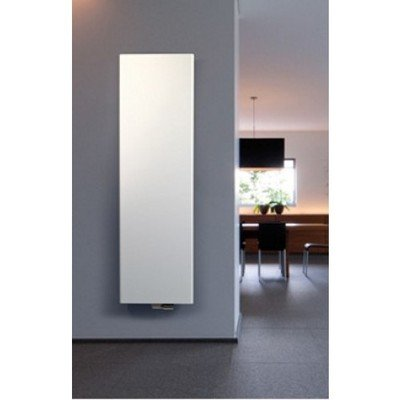 Vasco Niva S NS1L1 designradiator enkel 540X1820mm 948 watt wit structuur
