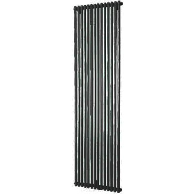 Plieger Venezia Radiateur design simple vertical 197x53.2cm 1417watt noir