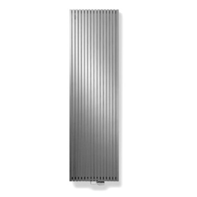 Vasco Carre Plan CPVN2 designradiator dubbel 1800x295mm 1174 watt alu grijs