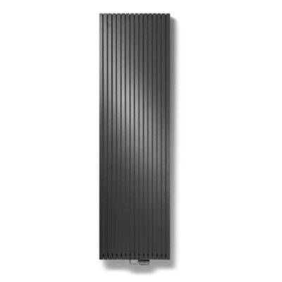 Vasco Carre Plan CPVN2 designradiator dubbel 2000x295mm 1279 watt antraciet