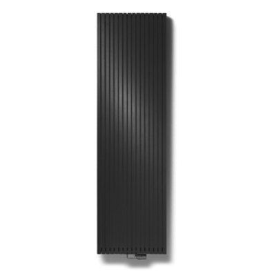 Vasco Carre Plan CPVN2 designradiator dubbel 2000x295mm 1279 watt zwart