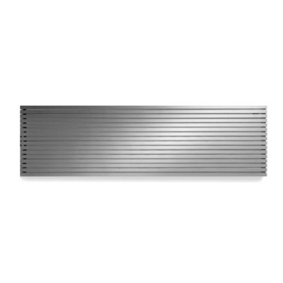 Vasco Carre Plan CPHN2 designradiator dubbel 1800x415mm 1618 watt alu grijs