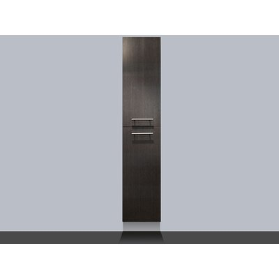 Saniclass Exclusive Line Kera 160cm hoge kast black wood