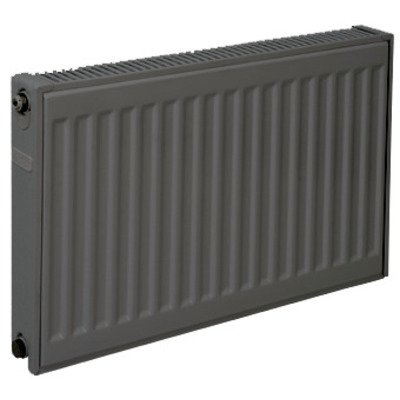 Plieger paneelradiator compact type 11 600x1400mm 1271W antraciet metallic