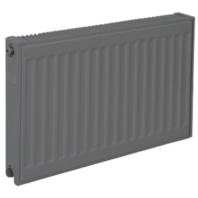 Plieger paneelradiator compact type 22 600x1400mm 2456W antraciet metallic