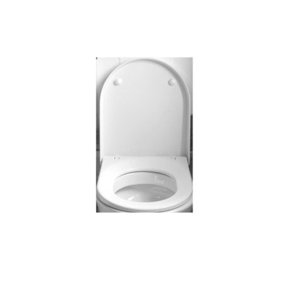 Throne Bathrooms Sanidusa Compact closetzitting met softclose en quick release wit