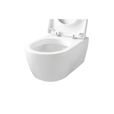 Throne Bathrooms Salina WC Suspendu avec abattant Blanc