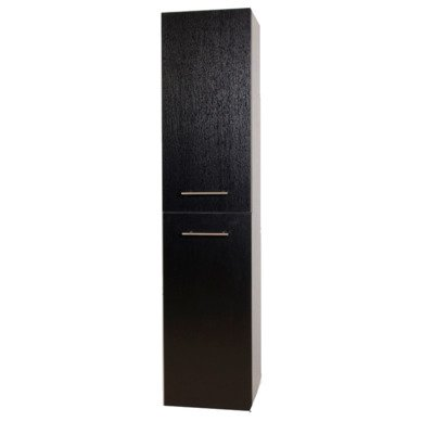 Saniclass Foggia 160 Hoge kast black wood