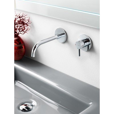 Hotbath Laddy Mitigeur lavabo encastrable 005J nickel brossé