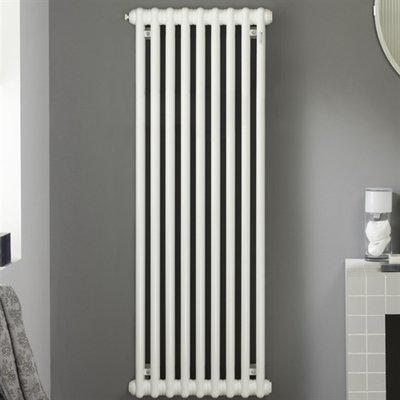 Zehnder Charleston ledenradiator 2200x736mm 3200W wit