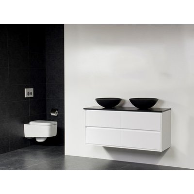 Saniclass New Future Corestone13 meuble Blanc brillant 120cm vasque à poser Blanc