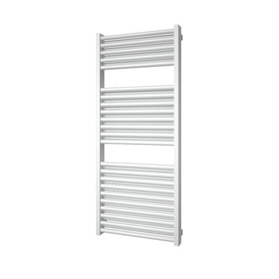 Plieger Imola M designradiator middenaansluiting 1230x500mm 802W wit OUTLET