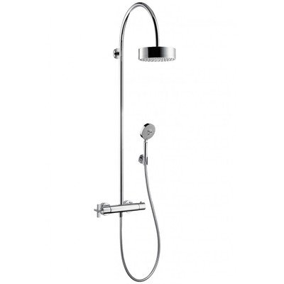 AXOR Citterio showerpipe met douchethermostaat chroom