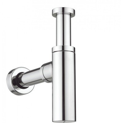 Saniclass Star design siphon avec tuyaux mural et rosette model chrome