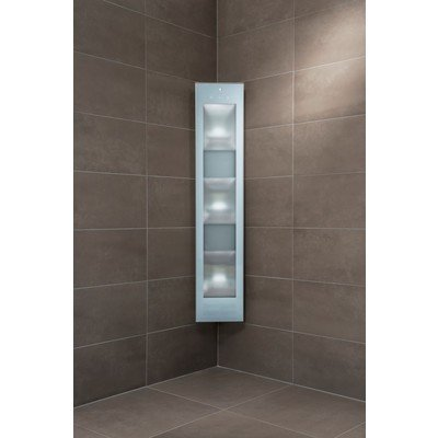 Sunshower Combi White UV- en infrarood opbouwapparaat 29x144x22.8cm full body 2000watt wit/aluminium