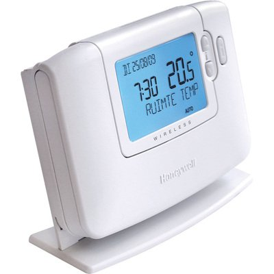 Honeywell Chronotherm klokthermostaat draadloos 24V Wireless wit