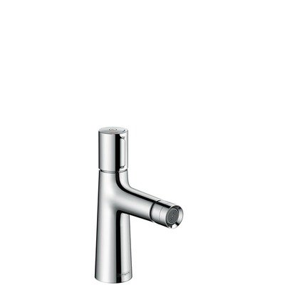 Hansgrohe Talis Select S 1 gats bidetkraan met waste met Select greep voor aan/uit + temperatuurinstelling chroom