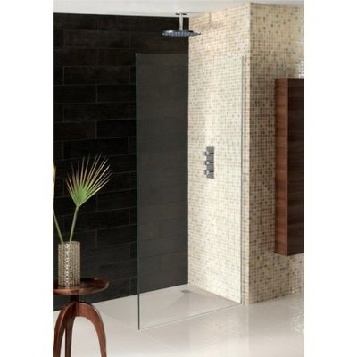 Simpsons Wetroom Receveur de douche 160x90x3cm à daller vidage central gris