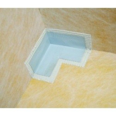 Simpsons Wetroom Isolation pour coin interne bleu