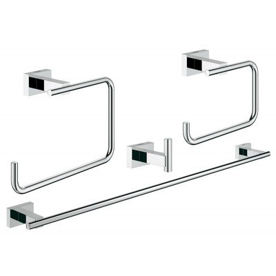 Grohe Essentials Cube accessoireset 4 in 1 chroom