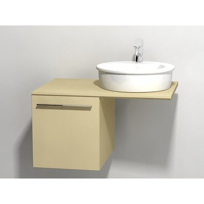 Duravit X large onderbouwkast v console met 1 lade 40x545x44cm cappuccino glans