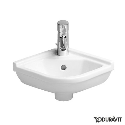 Duravit Philippe Starck 3 Lave mains d'angle 44x38.5cm Blanc
