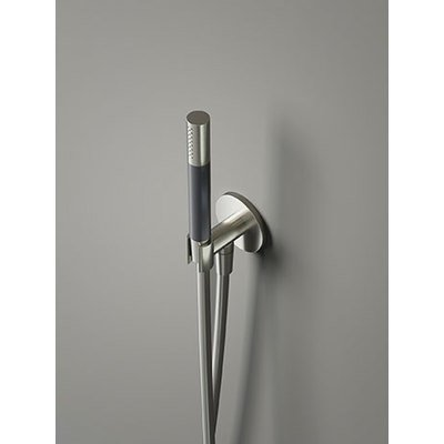 Hotbath Cobber Support mural et douchette encastrable chrome