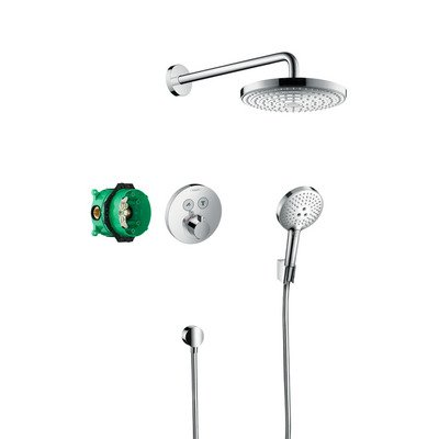 Hansgrohe Raindance select s showerselect s showerset chroom