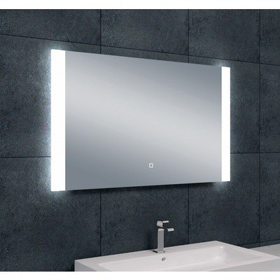 Wiesbaden Sunny dimbare LED condensvrije spiegel 100x60cm