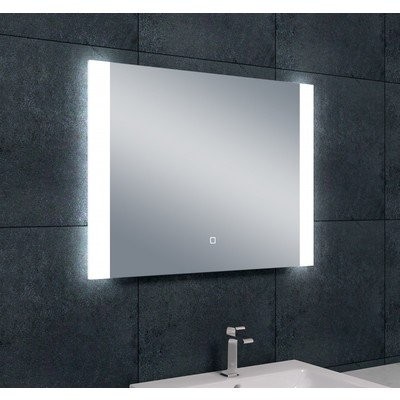 Wiesbaden Sunny dimbare LED condensvrije spiegel 80x60cm