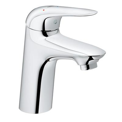 Grohe Wave New wastafelkraan M size ES met push open garnituur chroom