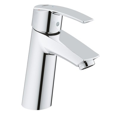 Grohe Start wastafelkraan M-size met waste chroom