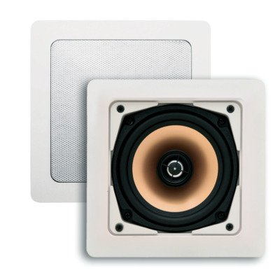 Aquasound Samba 4044 speakerset 177x177x65 Wit