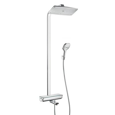 Hansgrohe Raindance Select Air 360 showerpipe met badkraan chroom